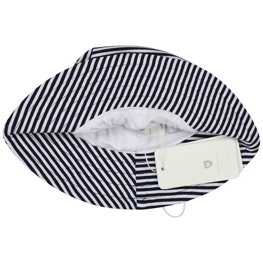 C1419N Nautical Stripes Sun Hat