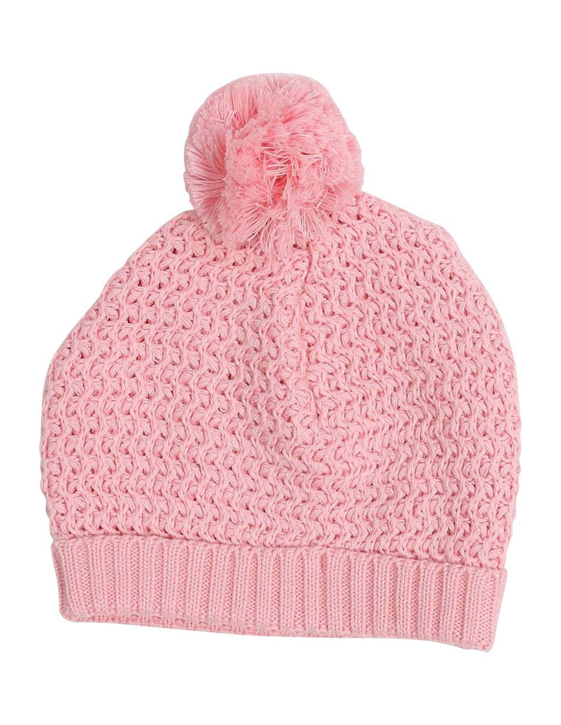 A1324P Clouds Knit Beanie with Pom Pom