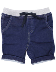 A1418D Into Space Denim Look Shorts