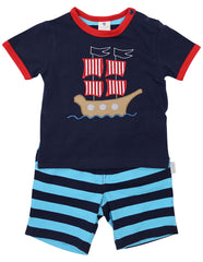 B1230B Pirate PJs-Sleepwear-Korango_Australia-Kids_Fashion-Children's_Wear