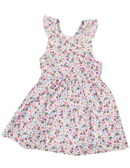 A1225P Floral Dress-Dress-Korango_Australia-Kids_Fashion-Children's_Wear
