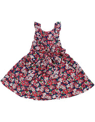 A1248R Floral Dress-Dress-Korango_Australia-Kids_Fashion-Children's_Wear