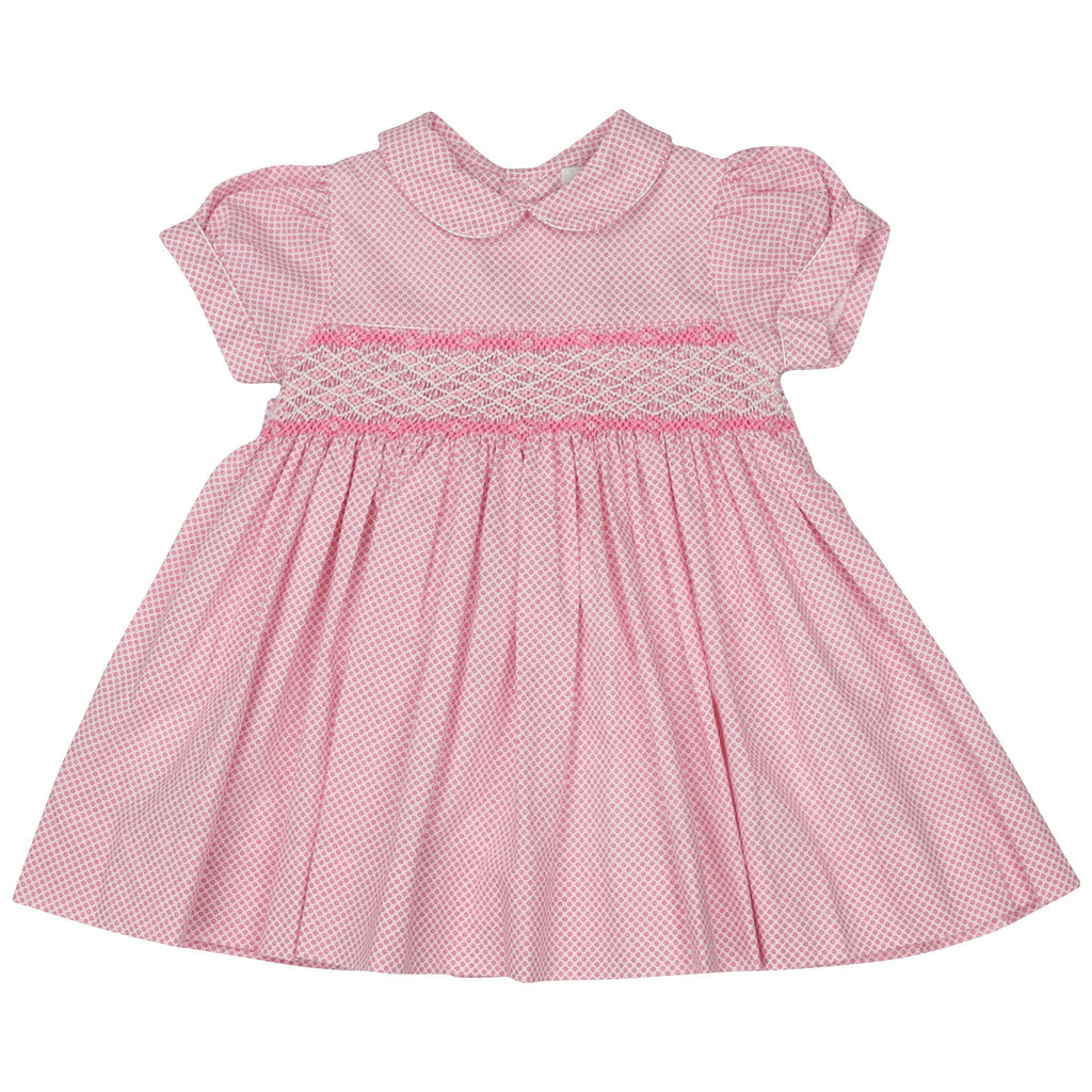 C1401P Summer Style Classic Smocked Dress