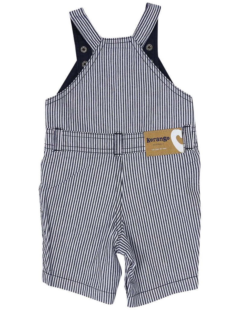 A1201S Camper Van Denim Overall-All In Ones-Korango_Australia-Kids_Fashion-Children's_Wear