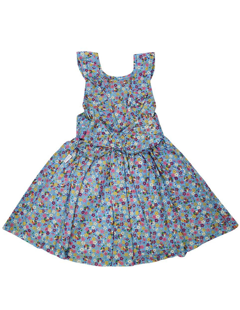 A1225B Floral Dress-Dress-Korango_Australia-Kids_Fashion-Children's_Wear