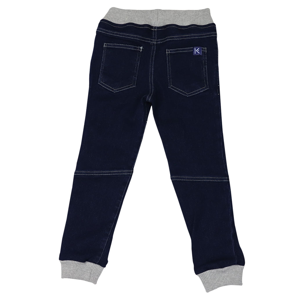 A1416D Into Space Denim Look Jeans