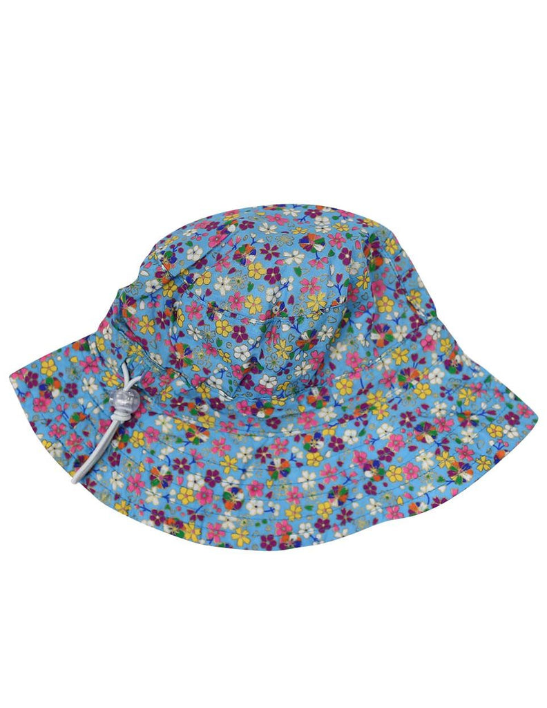 A1229B Floral Hat-Accessories-Korango_Australia-Kids_Fashion-Children's_Wear