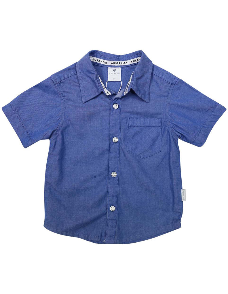 A1230B Beach Boys Shirt-Tops-Korango_Australia-Kids_Fashion-Children's_Wear
