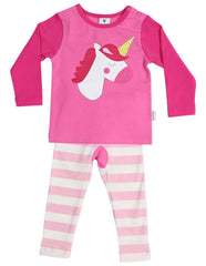A1362P Sleepwear Cotton Pyjamas Long Sleeve Tee and Pant Knight