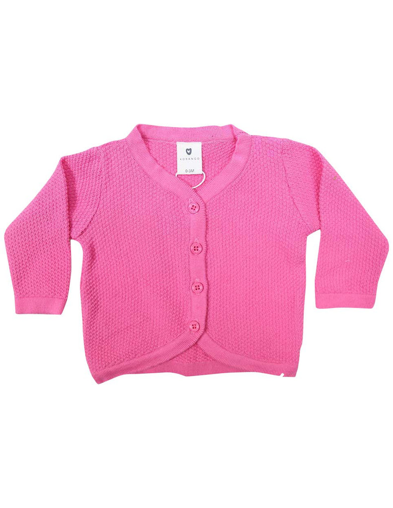 C1225P Cardigan-Cardigans/Jackets/Sweaters-Korango_Australia-Kids_Fashion-Children's_Wear