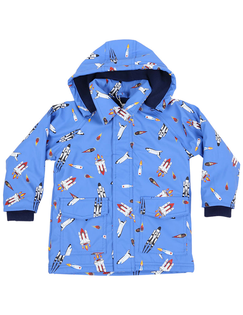 A1159B Raincoats Spaceship Raincoat