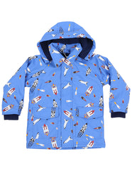 A1159B Raincoats Spaceship Raincoat-Rain Wear-Korango_Australia-Kids_Fashion-Children's_Wear