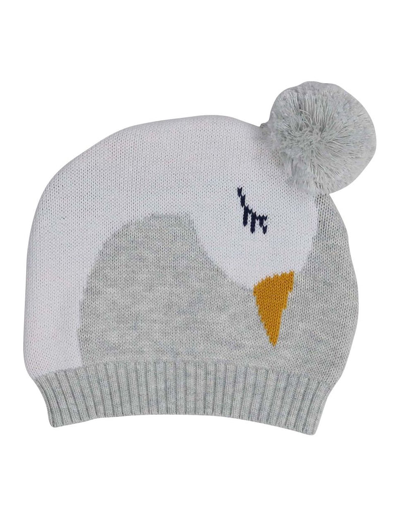 B13015G  Swan Princess Swan Princess Knit Beanie with Pom Pom