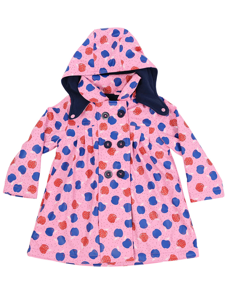 A1130P Cheeky Apple Raincoat-Rain Wear-Korango_Australia-Kids_Fashion-Children's_Wear