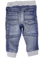 A1222L Denim Knit Jean-Pants & Shorts-Korango_Australia-Kids_Fashion-Children's_Wear