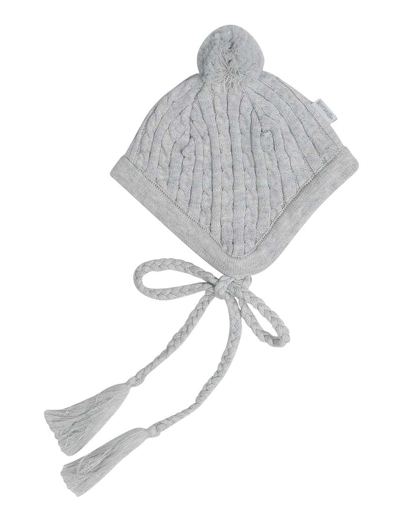 A1313G Raindrops Lined Knit Beanie