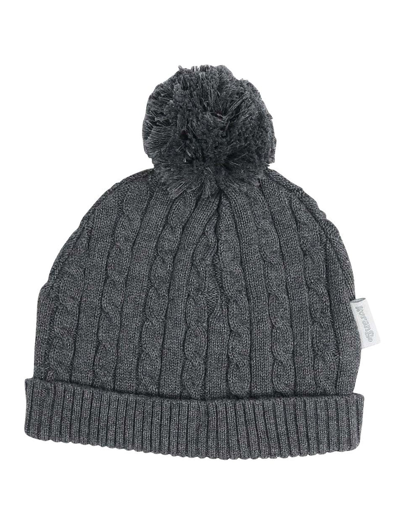 C13024C  Classique Boy Knit Beanie with Pom Pom