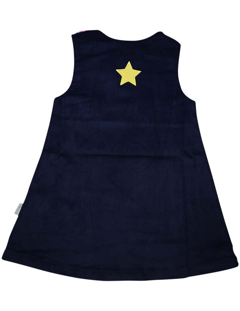 A1353N Standing out from the Crowd Unicorn Lined Cord Pinafore