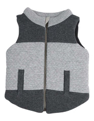 A1302C Tiger Padded Knit Vest