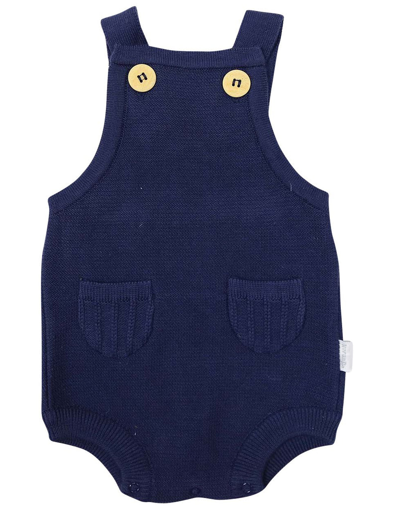 C1211N Knit Sunsuit-All In Ones-Korango_Australia-Kids_Fashion-Children's_Wear