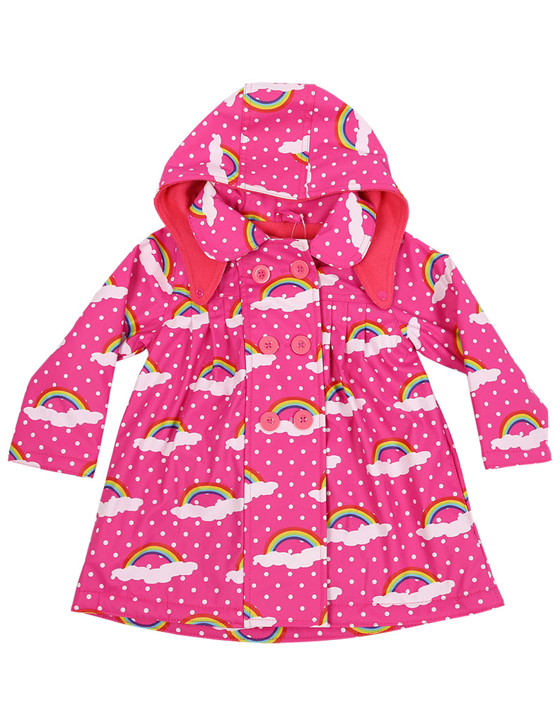 A1122P Winter Rainbow Raincoat-Rain Wear-Korango_Australia-Kids_Fashion-Children's_Wear