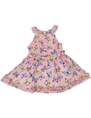 A1248P Floral Dress-Dress-Korango_Australia-Kids_Fashion-Children's_Wear