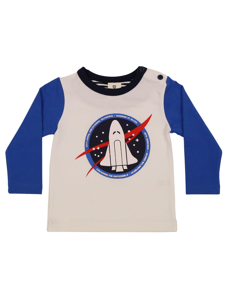 A9002B Little Explorer Top-Tops-Korango_Australia-Kids_Fashion-Children's_Wear