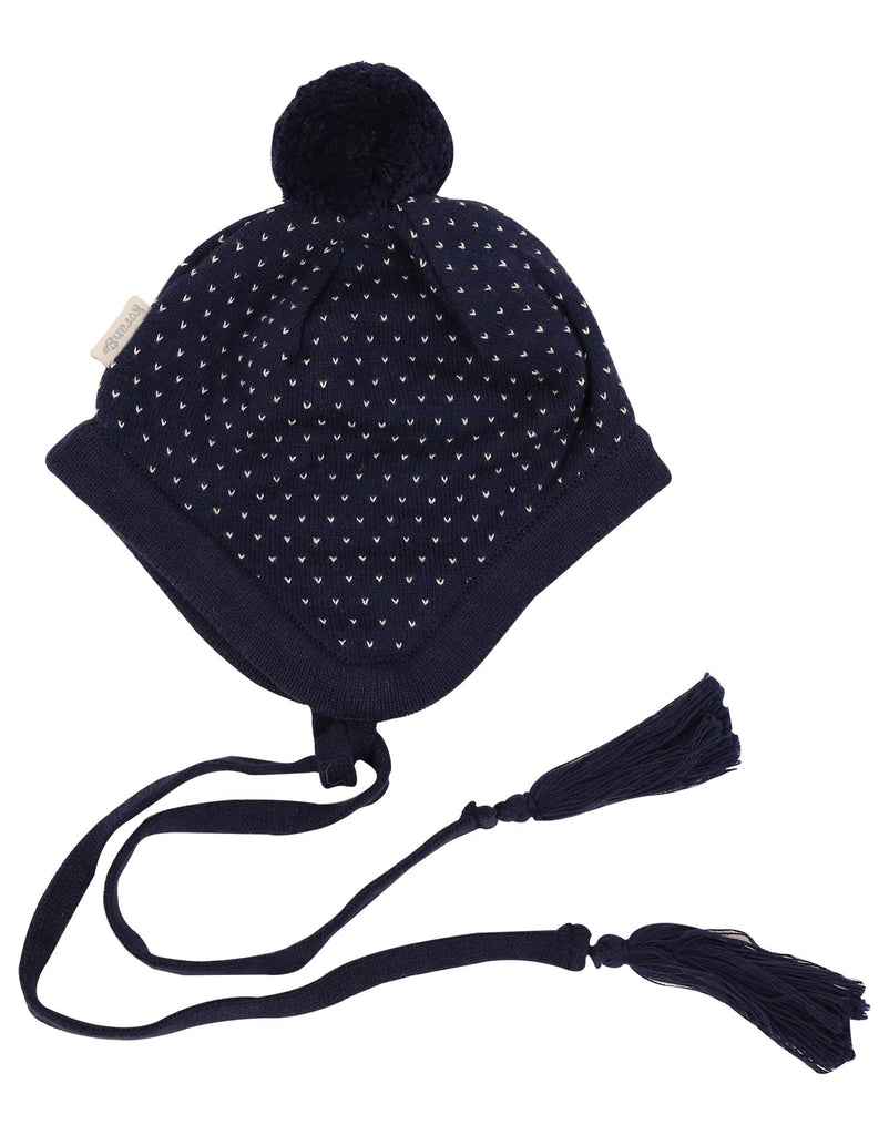 A1106 Over the Moon Lined Beanie-Accessories-Korango_Australia-Kids_Fashion-Children's_Wear