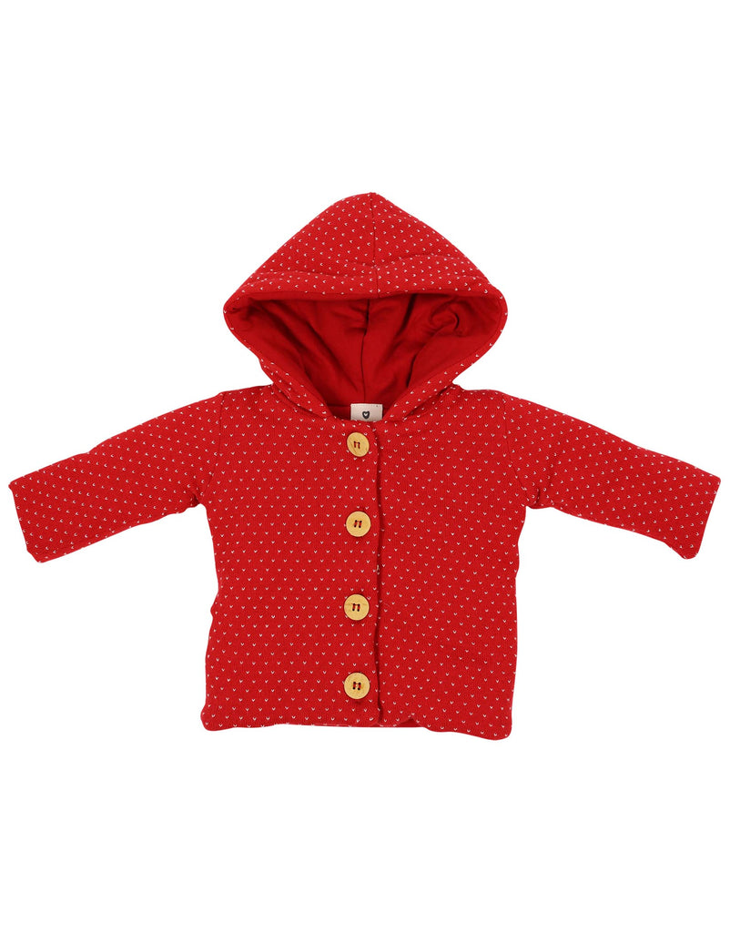 A1107 My Little Apple Lined Jacket-Cardigans/Jackets/Sweaters-Korango_Australia-Kids_Fashion-Children's_Wear