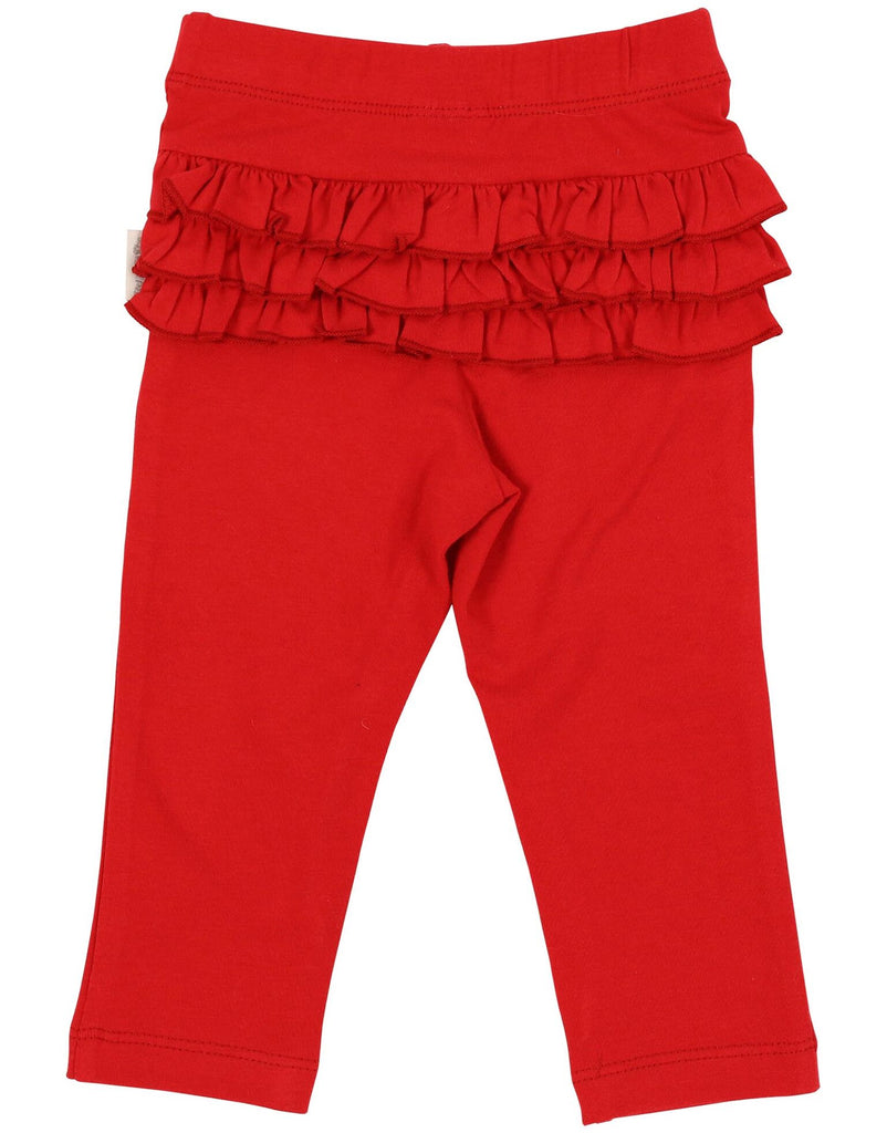 A1110R My Little Apple Ruffle Leggings