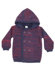 A9041R Mission to Mars Knit Overcoat-Cardigan/Jackets/Sweaters-Korango_Australia-Kids_Fashion-Children's_Wear