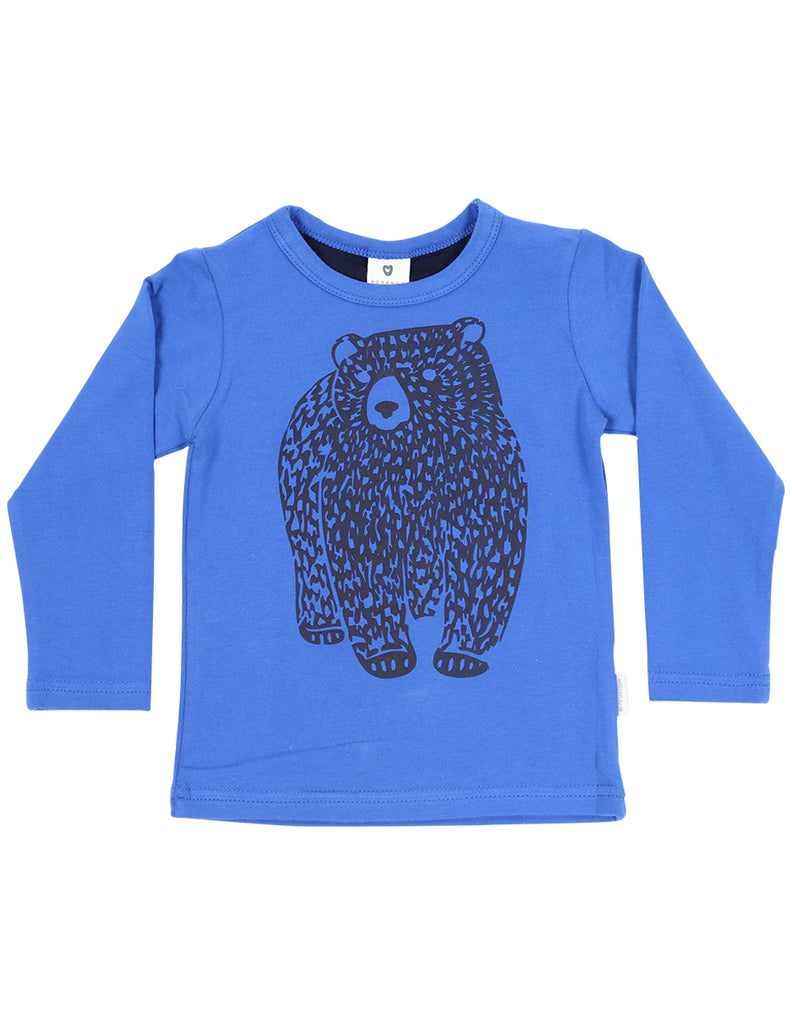 A1116B Bear in There Bear Top-Tops-Korango_Australia-Kids_Fashion-Children's_Wear