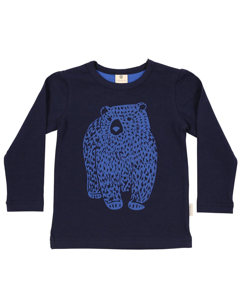 A1116N Bear in There Bear Top-Tops-Korango_Australia-Kids_Fashion-Children's_Wear
