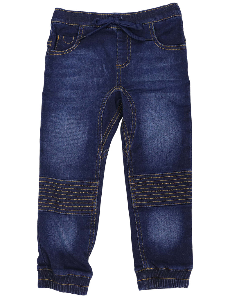 A1120 Bear in There Denim Knit Pant