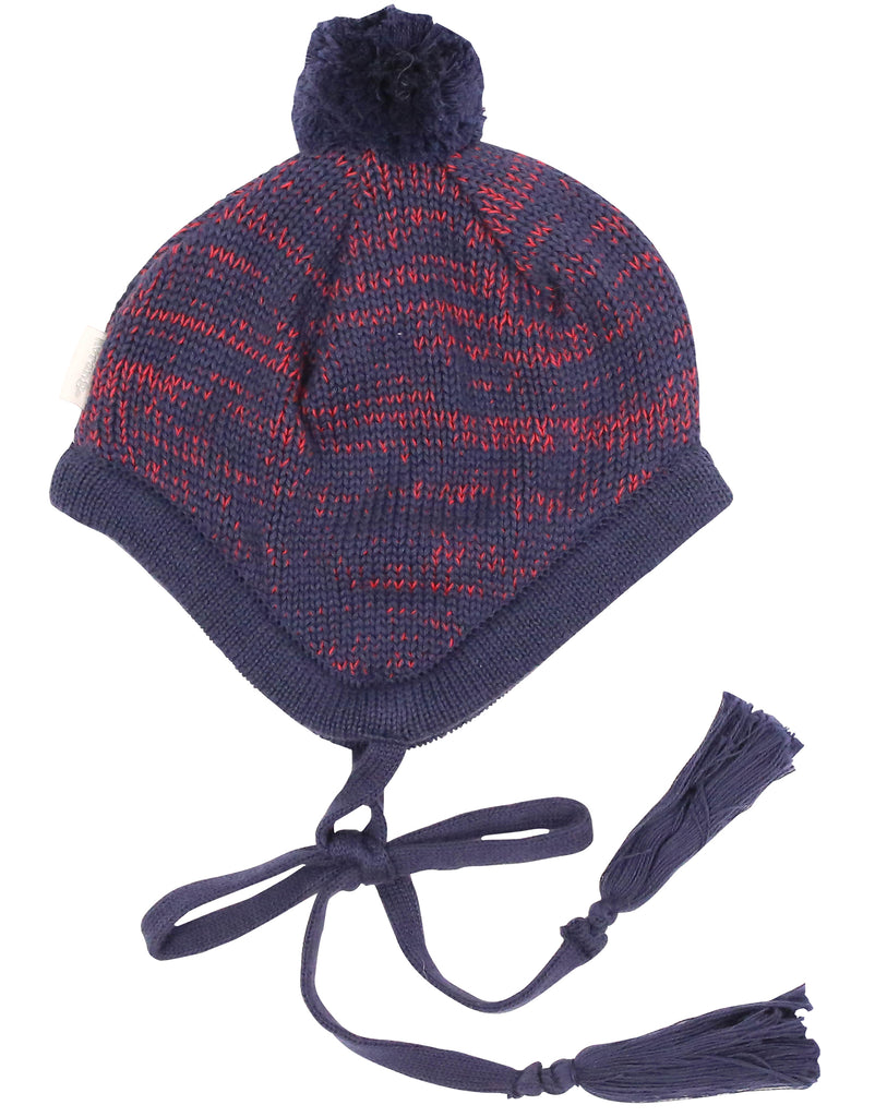 A9048R Mission to Mars Knit Beanie-Accessories-Korango_Australia-Kids_Fashion-Children's_Wear