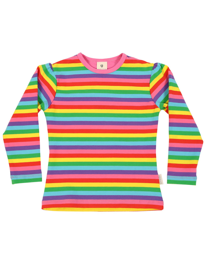 A1125S Winter Rainbow Top-Tops-Korango_Australia-Kids_Fashion-Children's_Wear