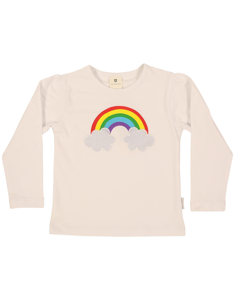 A1125W Winter Rainbow Top-Tops-Korango_Australia-Kids_Fashion-Children's_Wear