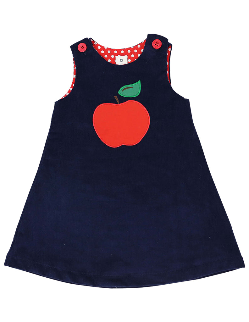 A1131N Cheeky Apple Cord Dress