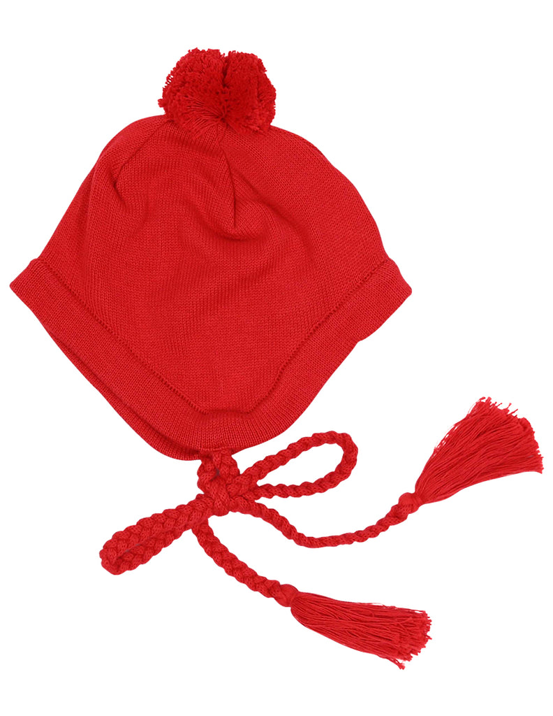 A1136R Cheeky Apple Lined Beanie-Accessories-Korango_Australia-Kids_Fashion-Children's_Wear