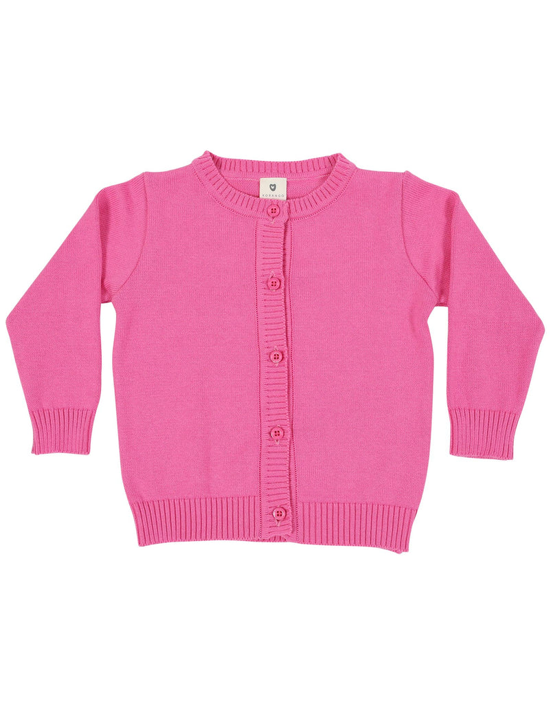 A1140P Chirpy Bird Cardigan-Cardigans/Jackets/Sweaters-Korango_Australia-Kids_Fashion-Children's_Wear