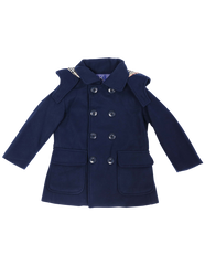 A1147N Cool and Classy Overcoat-Cardigans/Jackets/Sweaters-Korango_Australia-Kids_Fashion-Children's_Wear