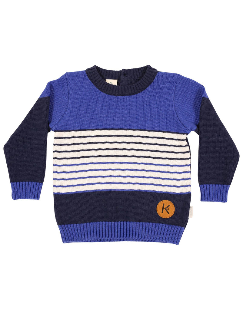 A1149B Cool and Classy Knit Sweater-Cardigans/Jackets/Sweaters-Korango_Australia-Kids_Fashion-Children's_Wear