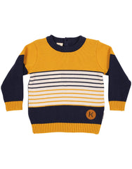 A1149M Cool and Classy Knit Sweater-Cardigans/Jackets/Sweaters-Korango_Australia-Kids_Fashion-Children's_Wear