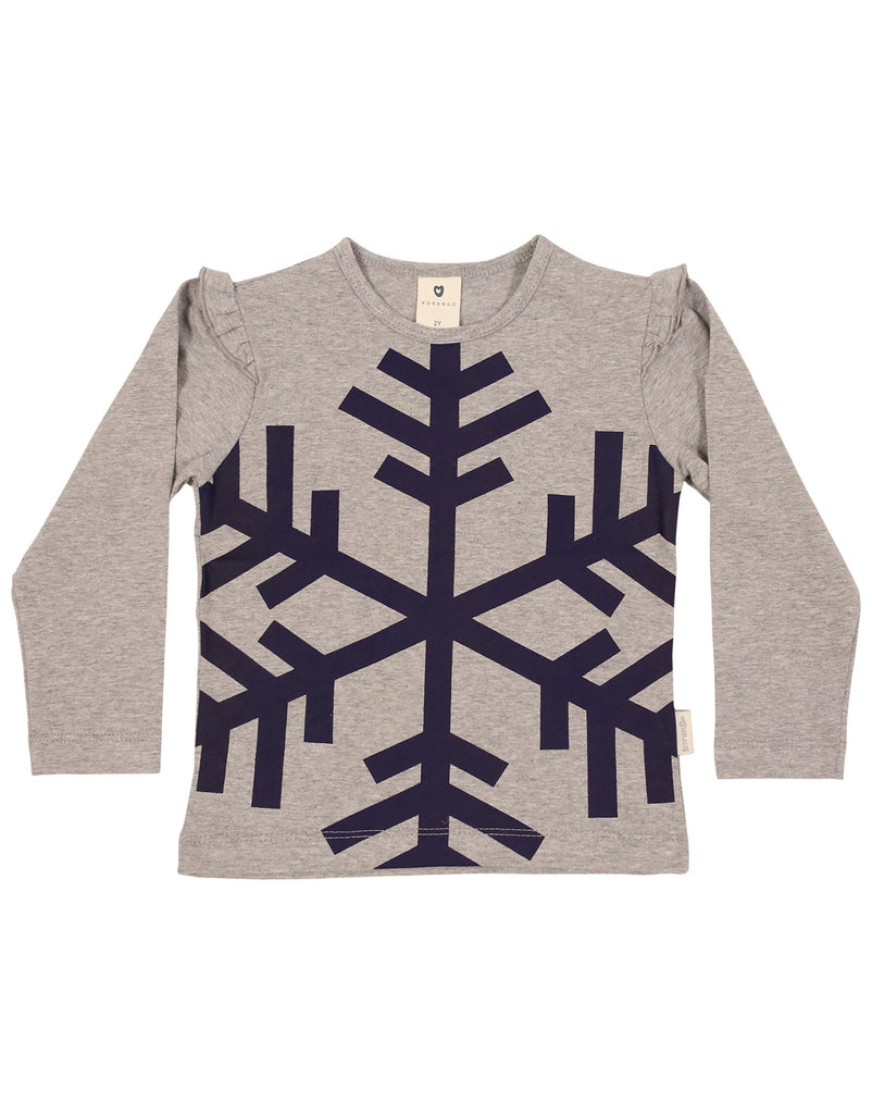A1155G Frosty Fun Top-Tops-Korango_Australia-Kids_Fashion-Children's_Wear