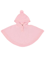 B1113 Little Fawn Poncho-Cardigans/Jackets/Sweaters-Korango_Australia-Kids_Fashion-Children's_Wear