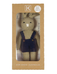 B1134 Baby Gifts Bunny Rattle Toy-Accessories-Korango_Australia-Kids_Fashion-Children's_Wear