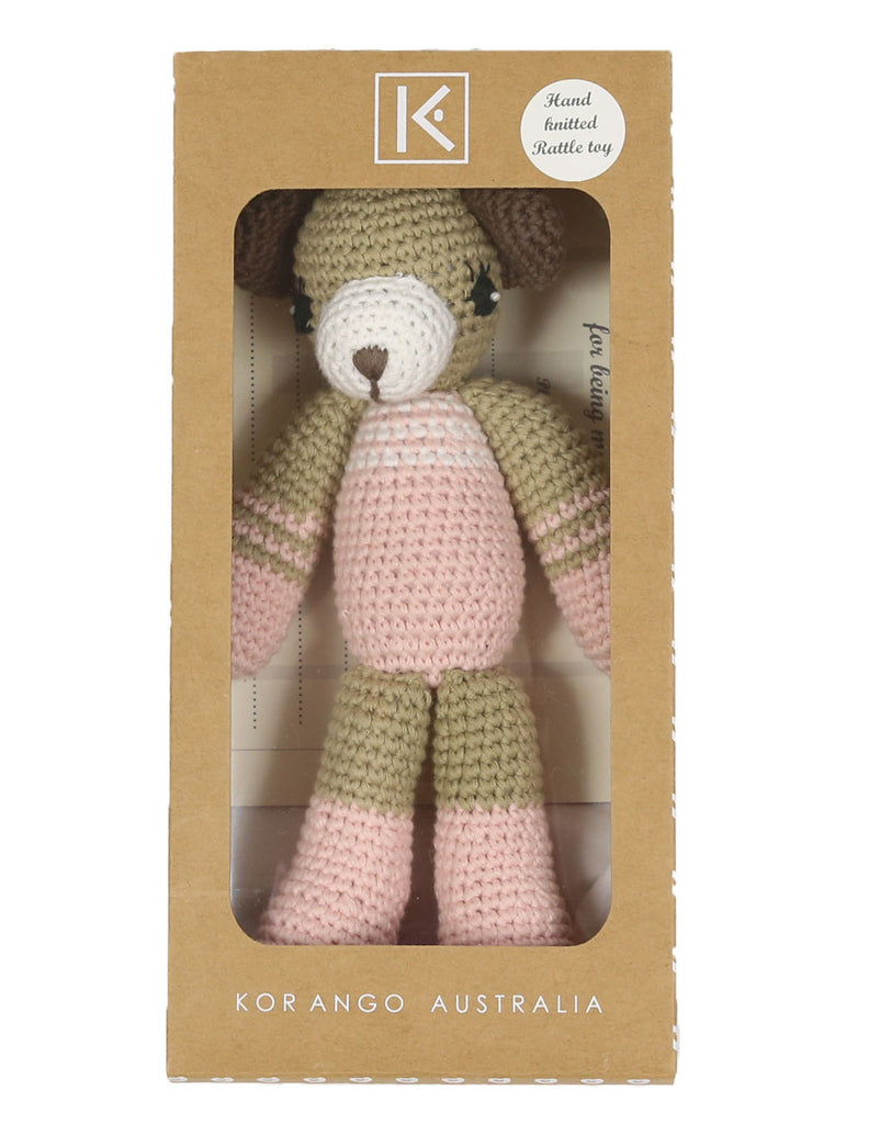 B1135P Baby Gifts Bear Rattle Toy