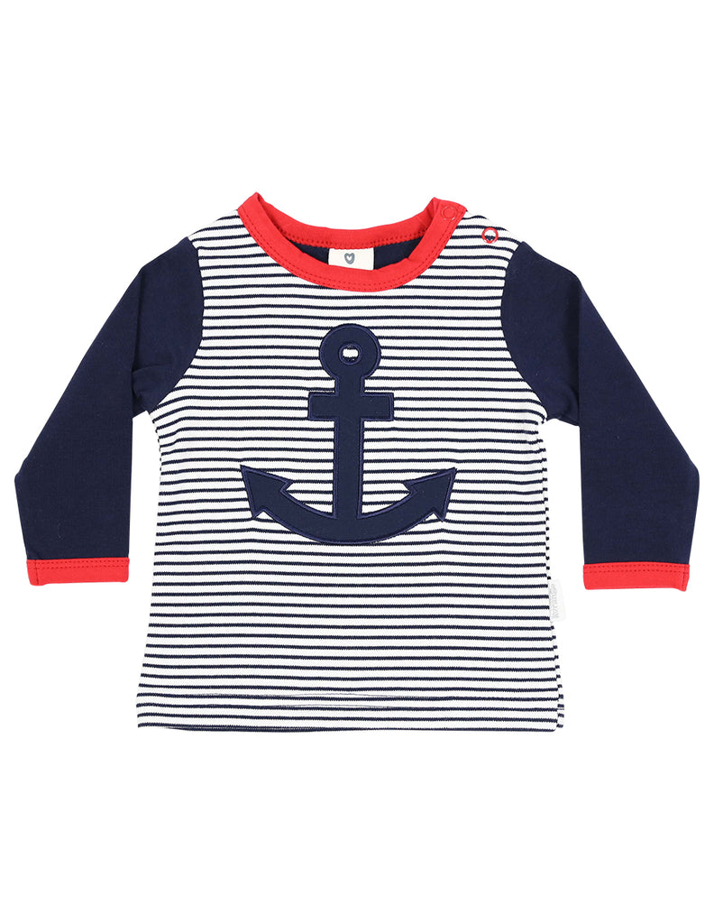 C1118 Little Boater Top-Tops-Korango_Australia-Kids_Fashion-Children's_Wear