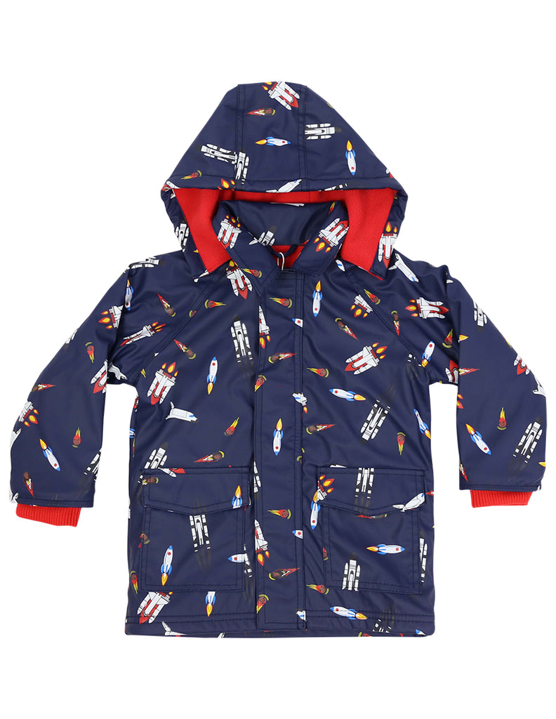 A1159N Raincoats Spaceship Raincoat