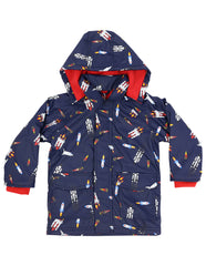 A1159N Raincoats Spaceship Raincoat-Rain Wear-Korango_Australia-Kids_Fashion-Children's_Wear
